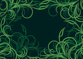 Floral background. Vector illustration. — ストックベクタ