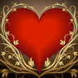 Heart background. - Vettoriali Stock