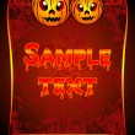 Halloween card. — Stock Vector