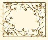 Interesting decorative background — Stock Vector