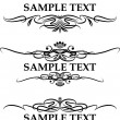 Royalty-Free Stock Imagem Vetorial: Vintage frames for text