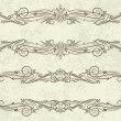 Royalty-Free Stock Imagem Vetorial: Decorative frame.