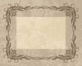 Decorative vector frame — Stock Vector