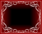 Elegante sfondo rosso — Vettoriale Stock