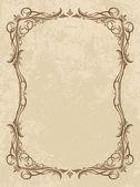 Decorative vector frame — Stock Vector