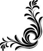 Original decorative corner — Stock Vector