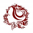 Royalty-Free Stock Imagen vectorial: Glamour tattoo