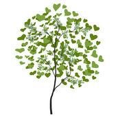 Sevgililer günü ağaç tasarım — Stok Vektör