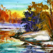 Water colour landscape — Stock Photo #1091758