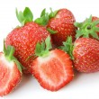 Strawberry isolated on a white backgroun — Stock Photo