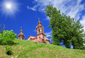 Building svyato-uspenskaya church in Vit — Stock Photo