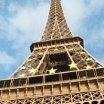 The Eiffel Tower, Paris, France — Stock Photo