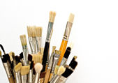 Art brushes for drawing — Stock Photo
