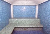 The Turkish bath which has been laid out — Stock Photo