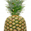 Stock Photo: Pineapple on white background