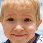 Little child smiling — Stock Photo
