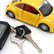 llave de carro — Foto de Stock