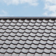 Royalty-Free Stock Photo: Tile roof
