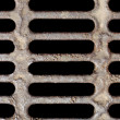 Stock Photo: Sewer manhole
