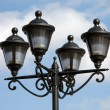 Stock Photo: Street light equipment