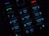 Mobile phone keypad — Stock Photo