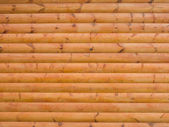 Log house structure of wood building — Stock Photo