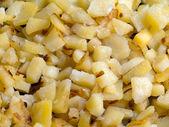 Fried potato food — Stock Photo