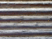 Estrutura da casa de log — Fotografia Stock