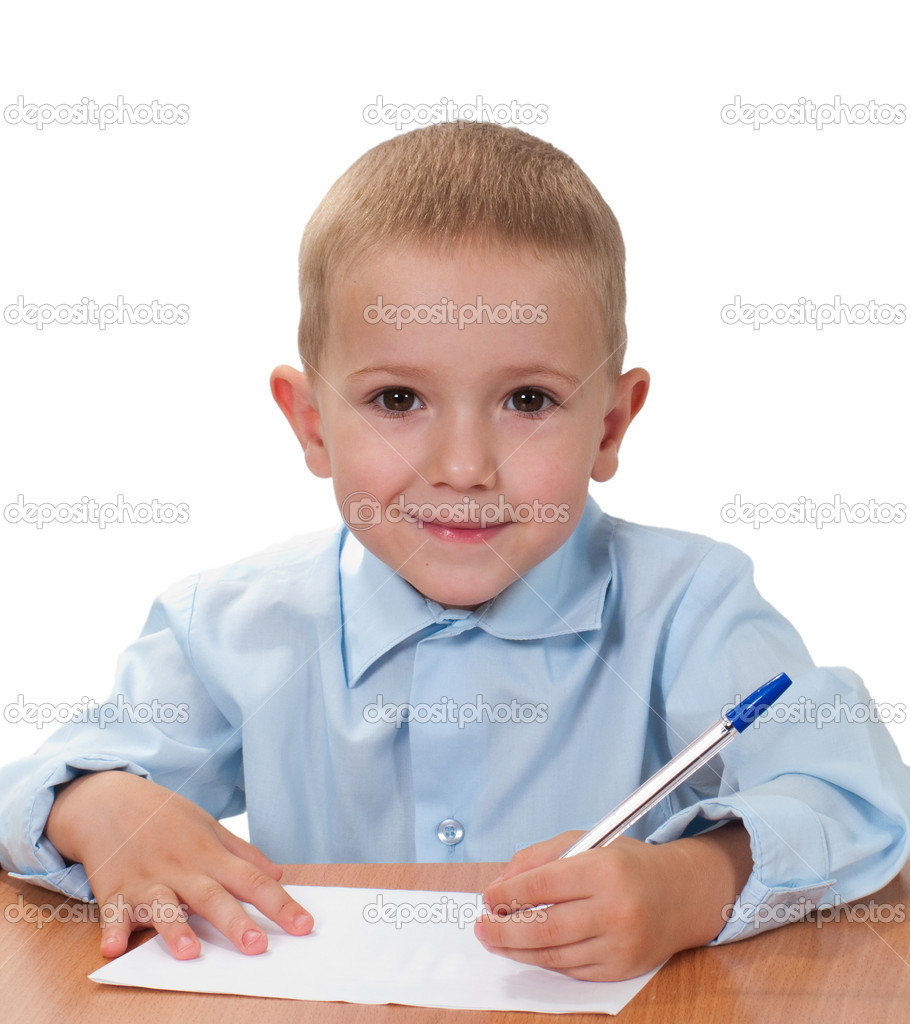 Little child education study for school learning — Stock Photo #1066241