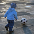 Soccer playing — Stock Photo
