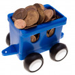 Coin car — Stock Photo #1258838