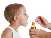 Medicine syrup — Stock Photo