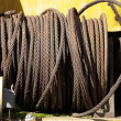 Steel rope - Stock Photo