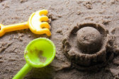 Sandbox toys — Stock Photo