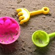 Royalty-Free Stock Photo: Sandbox toys