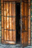 Church door — Stockfoto