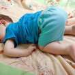 Little child sleeping — Stock Photo