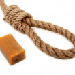 Rope and soap — Stock Photo #1392981