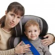 Safety car seat - Stock Photo