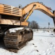 Digging machine - Stockfoto