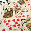Poker gambling cards — Stock Photo