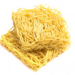 Pasta isolated on white — Stock Photo