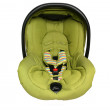 Stock Photo: Baby car seat isolated