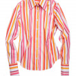 Striped shirt — Foto de Stock