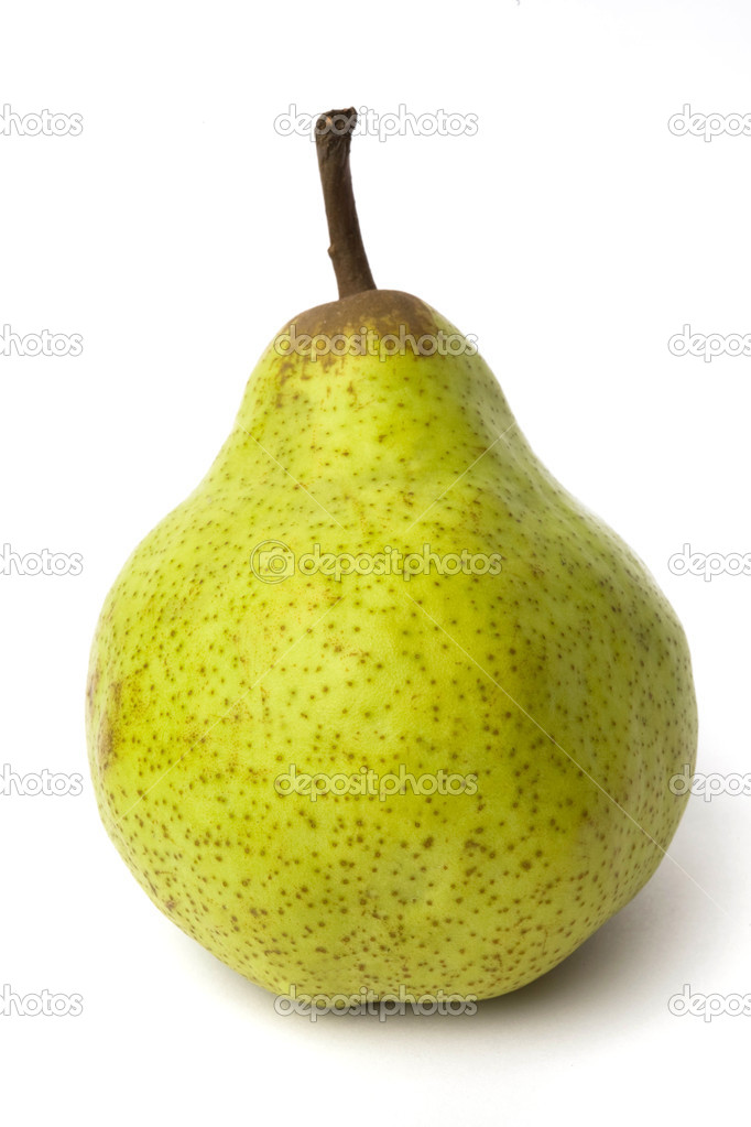 Pear isolated on white  — Stock Photo #1145228