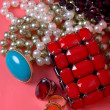 Stock Photo: jewelry set