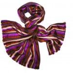Striped scarf — Stock Photo