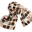 Silk scarf - Stock Photo