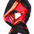 Silk scarf — Foto Stock