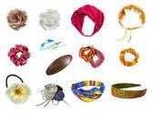 Hair accessories set — Stock Photo
